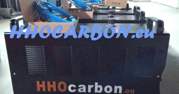 technologie de l'appareil HHOcarbon pour le nettoyage moteur par hydrogène
